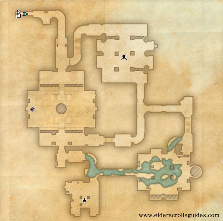 Black Wine Ruins delve map