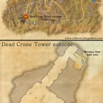 Briar Rock Ruins delve map