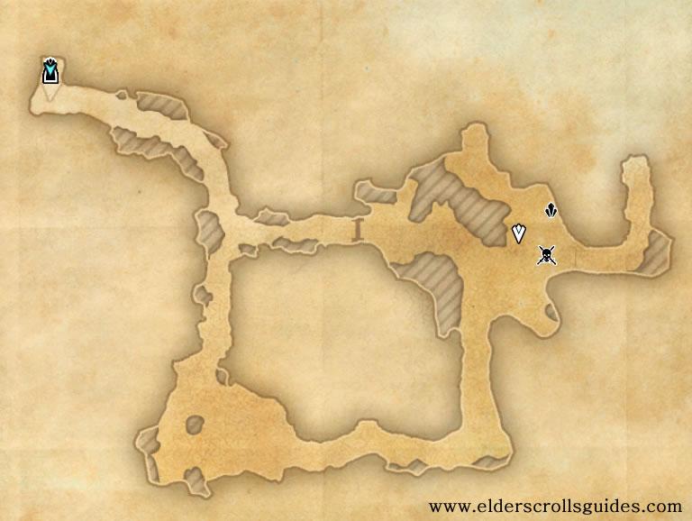 Burroot Kwama Mine delve map