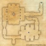 Carac Dena delve map