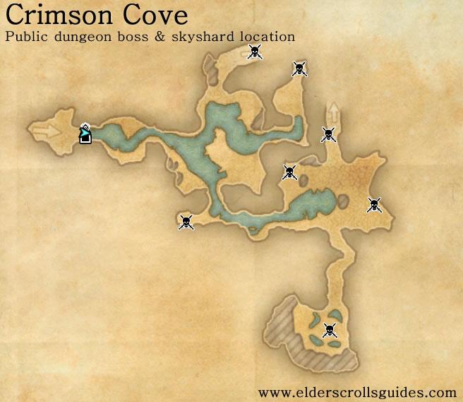 Eso Crimson Cove Boss Locations | Pwner