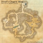 Divad's Chagrin Mine delve map