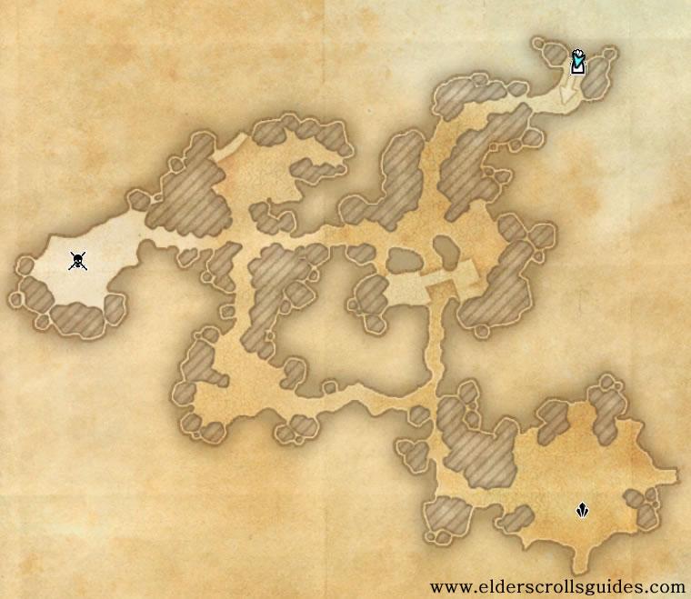 Entila's Folly delve map