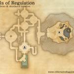 Halls of Regulation delve map