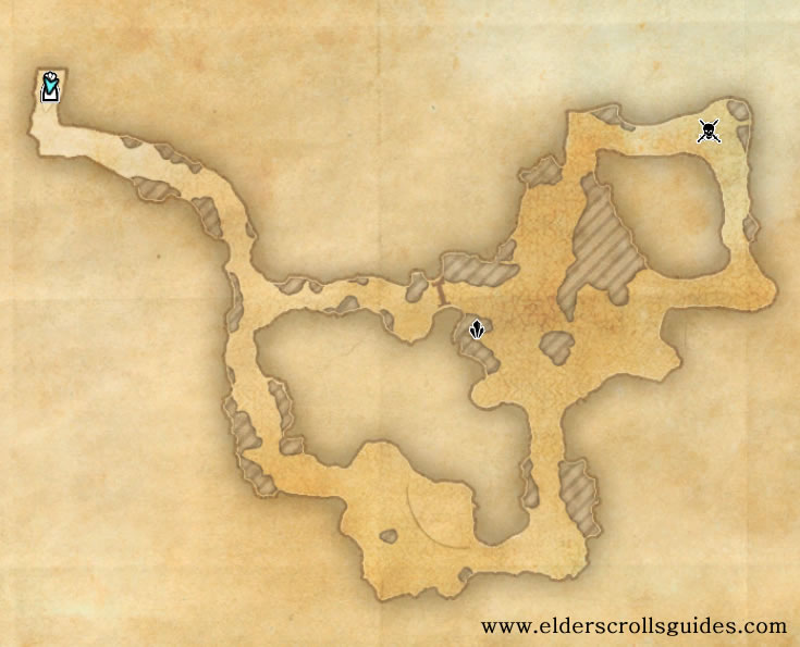 Hildune's Secret Refuge delve map