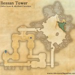 Ilessan Tower delve map