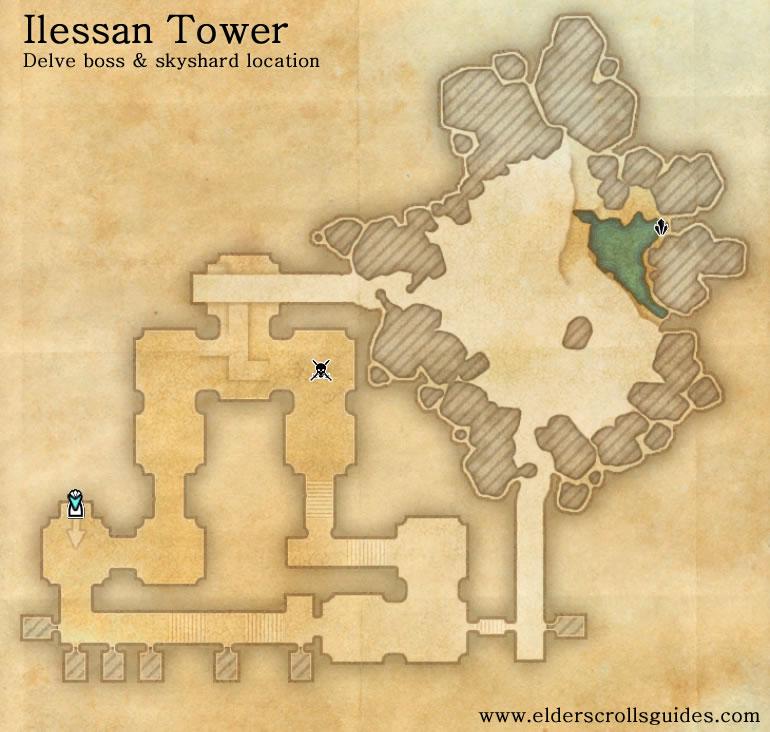 Ilessan Tower delve map