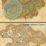 King's Haven Pass & Coral-Splitter Caves delve map