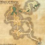 Mines of Khuras delve map