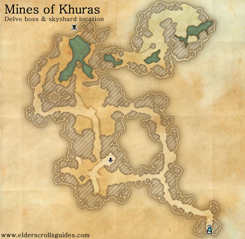 Mines of Khuras delve map