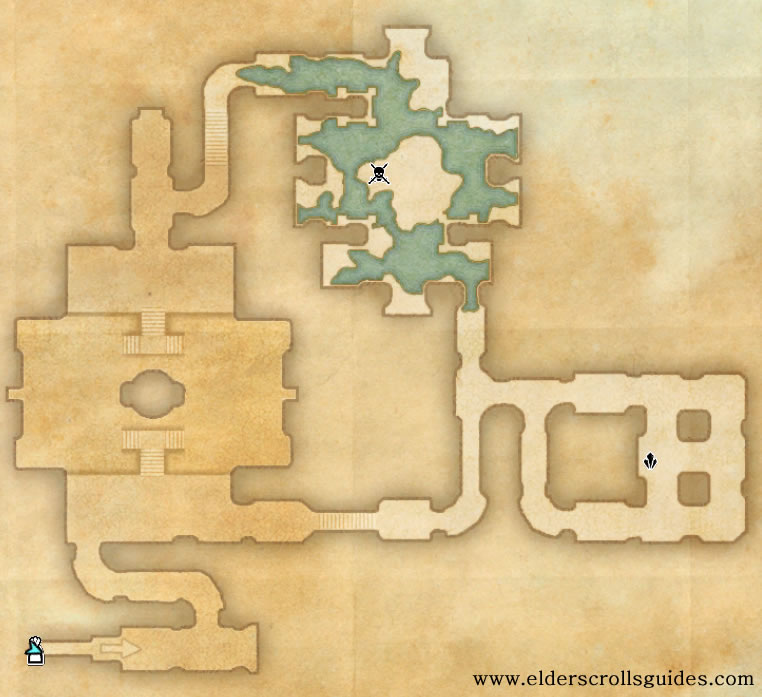 Ondil delve map