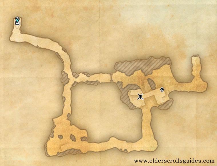 Onkobra Kwama Mine delve map