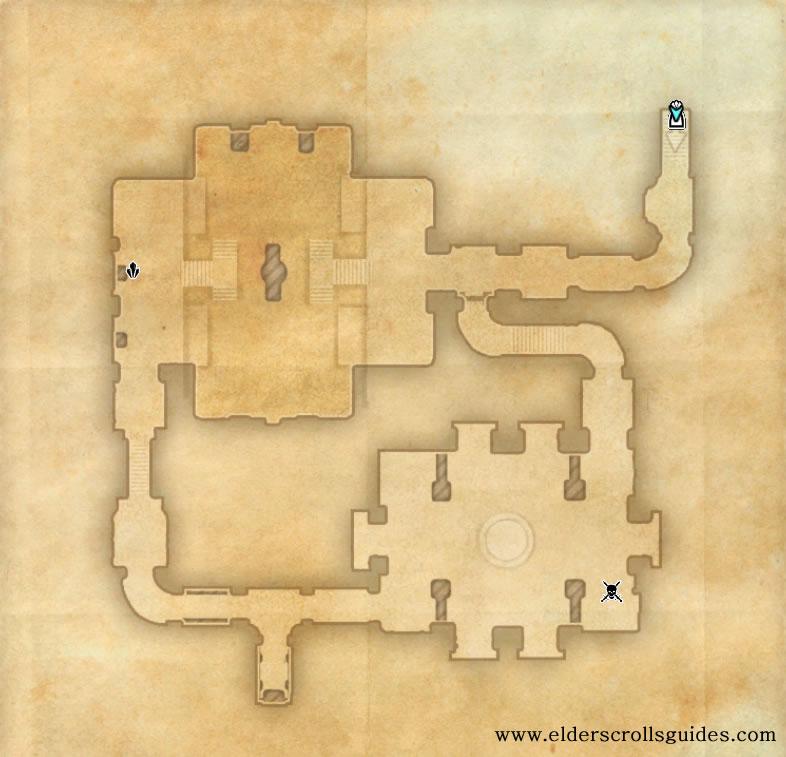 Orc's Finger Ruins delve map