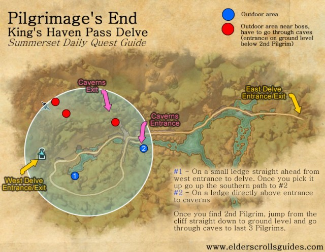 Pilgrimage's End daily quest guide
