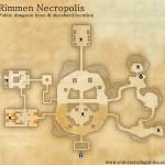 Rimmen Necropolis public dungeon map