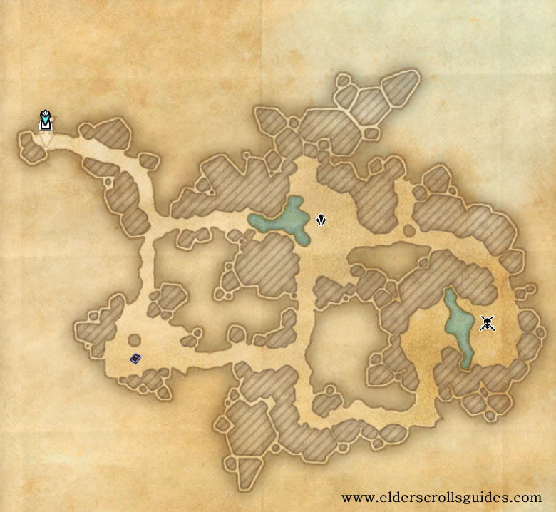 Roots of Silvenar delve map
