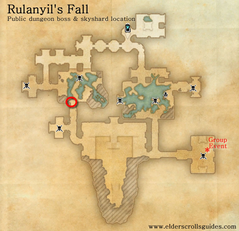 Rulanyil's Fall public dungeon map