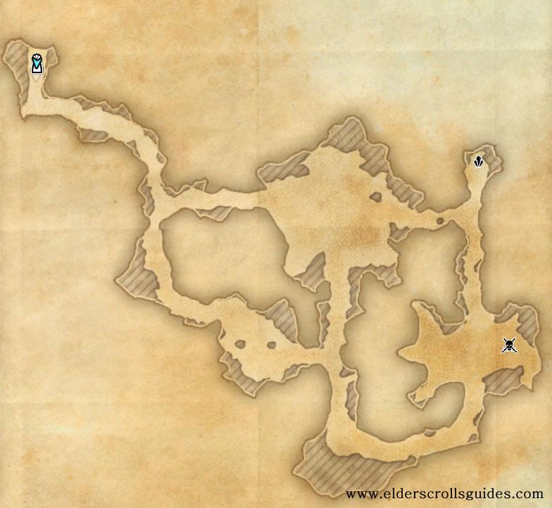 Sandblown Mine delve map