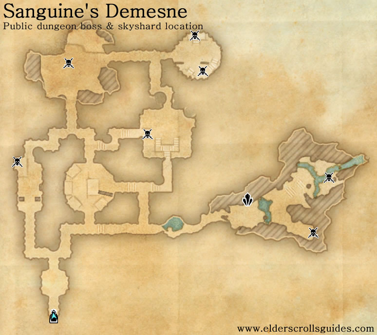 Sanguine's Demesne public dungeon map