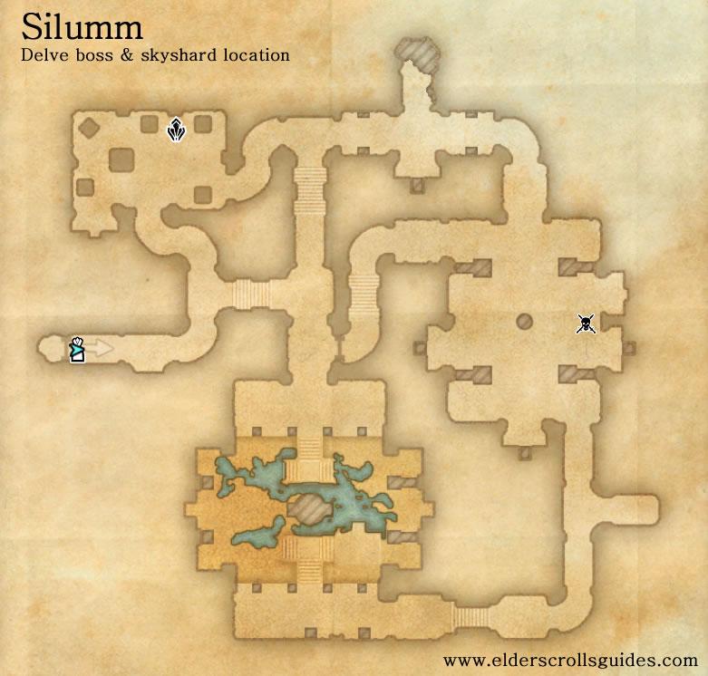 Silumm delve map