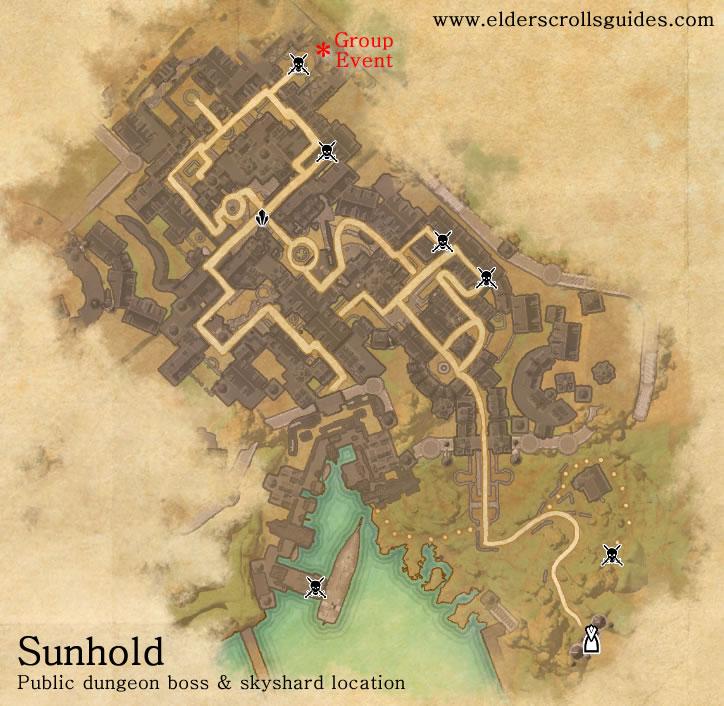 Sunhold public dungeon map