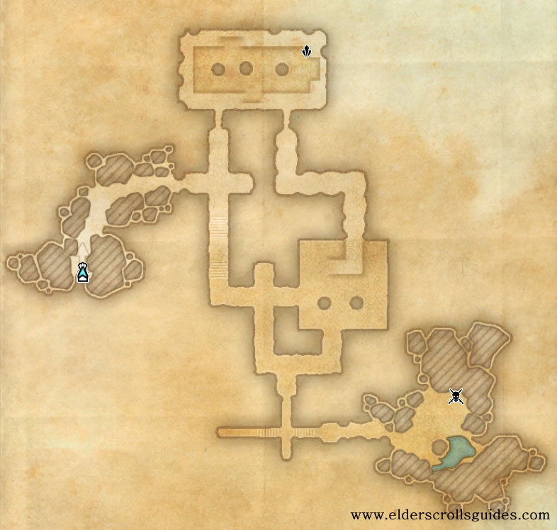The Bastard's Tomb delve map