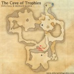 The Cave of Trophies delve map
