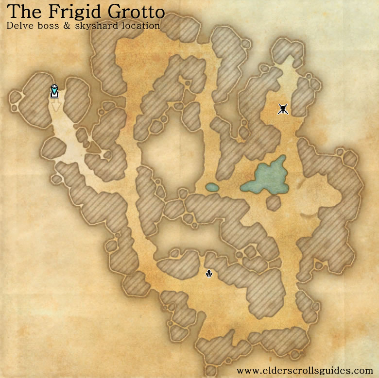 The Frigid Grotto delve map