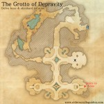 The Grotto of Depravity delve map