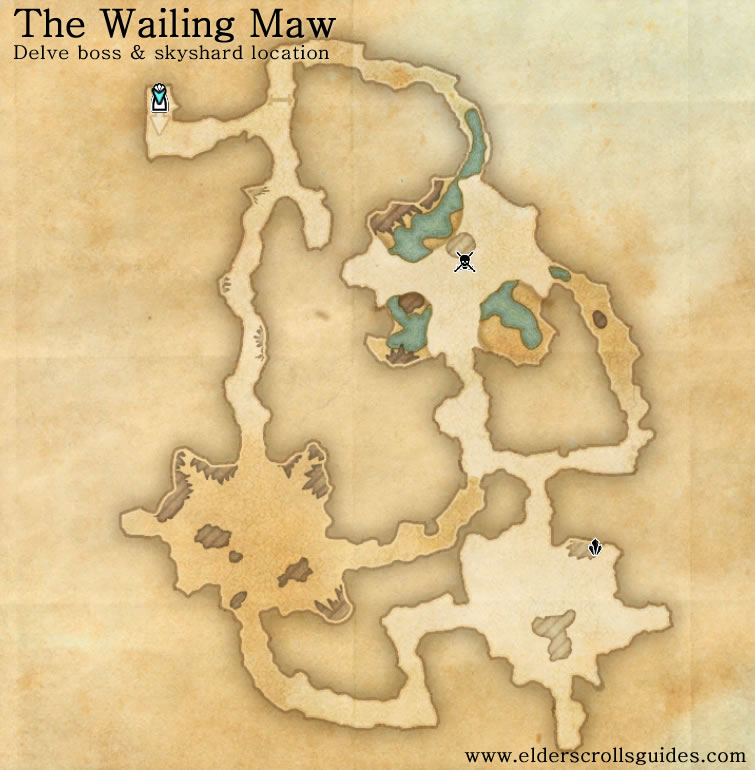 The Wailing Maw delve map