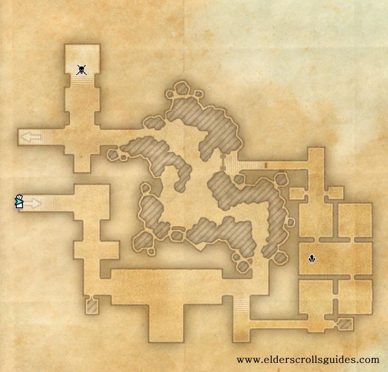 Thibaut's Cairn delve map