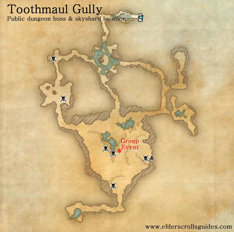 Toothmaul Gully public dungeon map