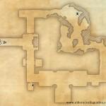Tribulation Crypt delve map