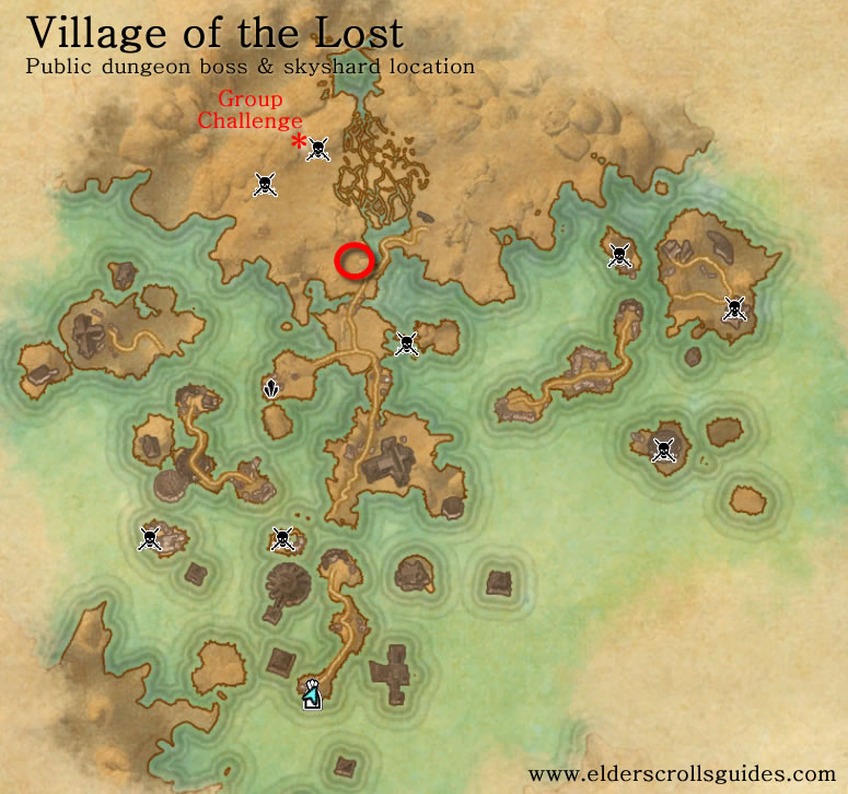 Village of the Lost public dungeon map