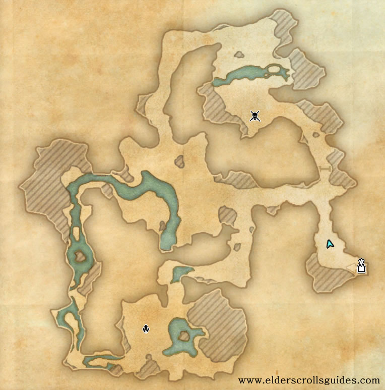 Weeping Wind Cave delve map