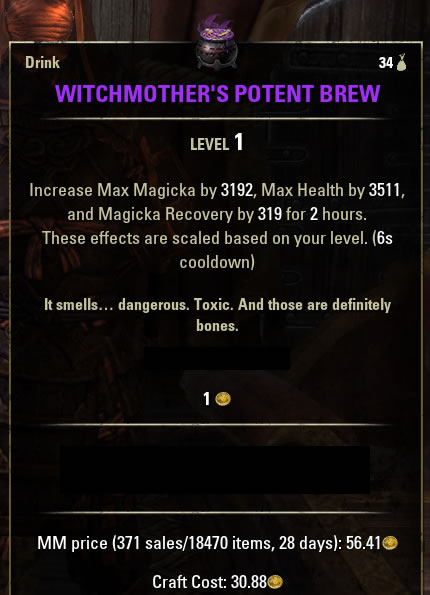 Witchmother's Potent Brew