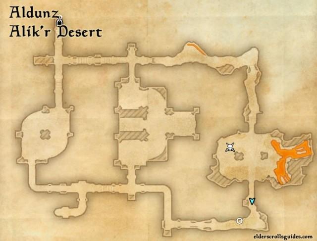 Aldunz Precursor location - Construct's Chestplate