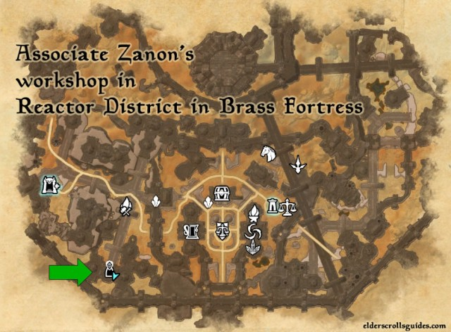 Associate Zanon Location