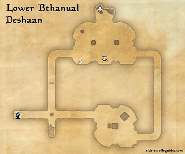 Lower Bthanual Precursor location - Construct's Pelvis