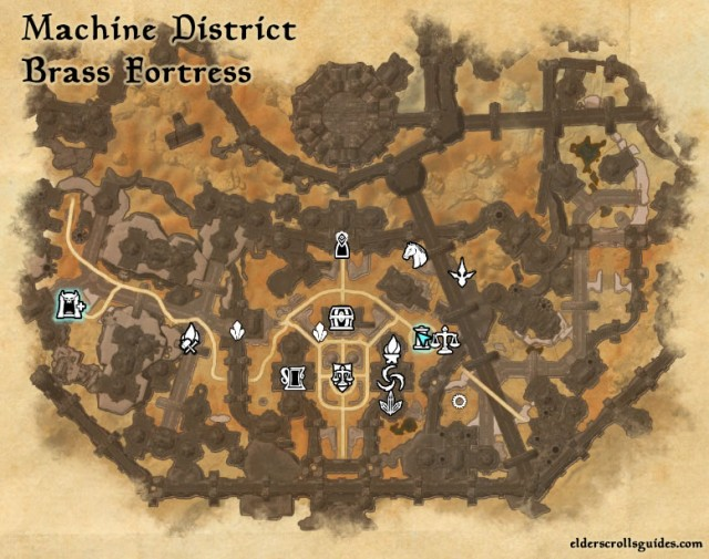 Machine District Precursor location - Integral of Reason