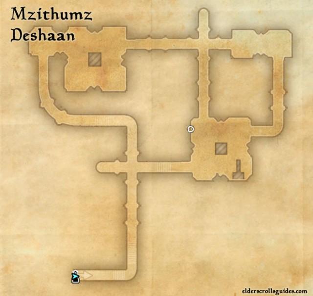 Mzithumz Precursor location - Construct's Right Hand